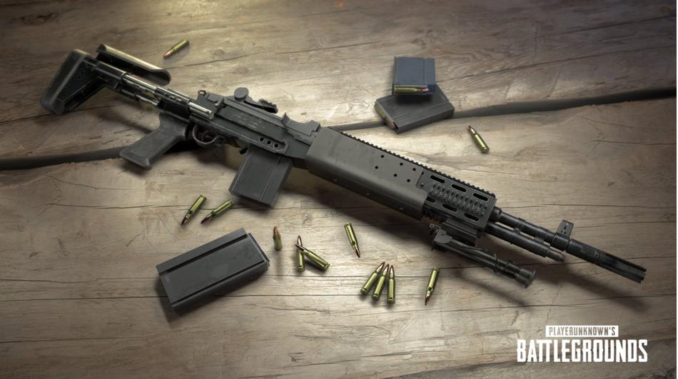 【絕地求生】新武器曝光,超猛神槍 MK14 EBR狙擊步槍 8 月實裝! -皮諾電玩